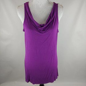 Women's Gaiam Yoga Tank Top with Lace Back  Size L